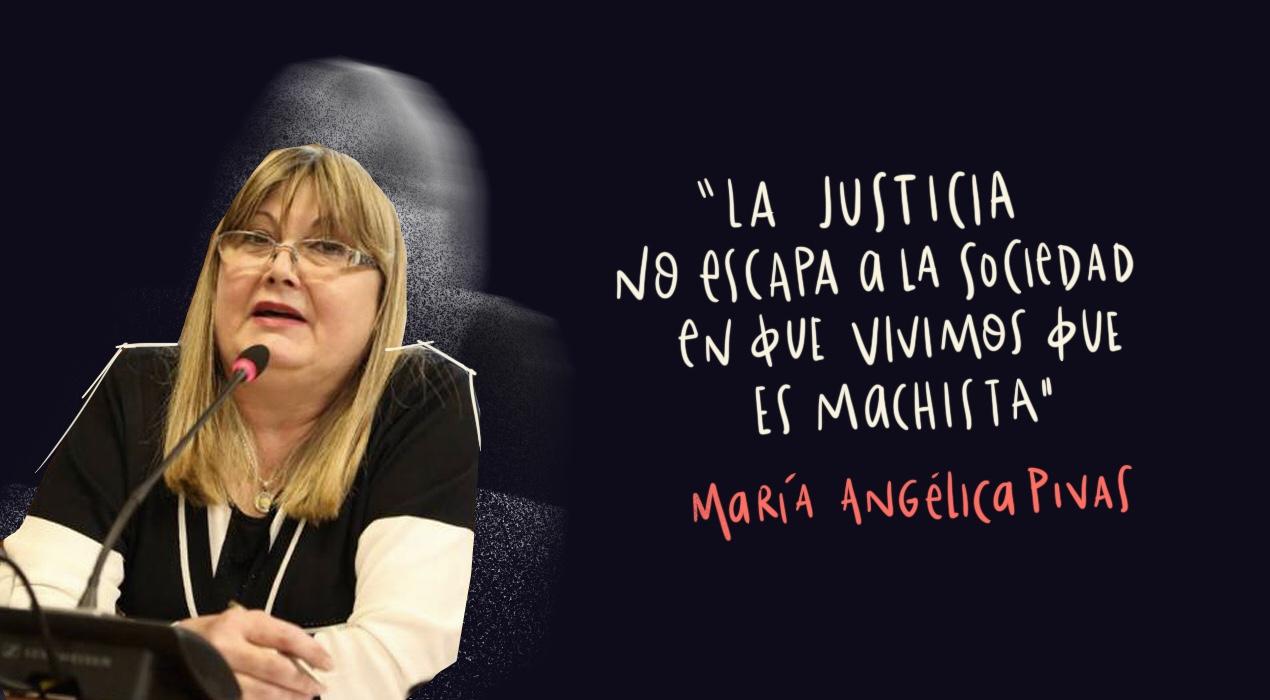 """María Angélica Pivas: """"Cuando era chica ya quería ser abogada, asociaba a la Justicia con la felicidad"""""""