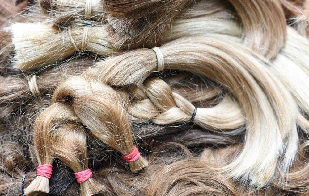 Soy María y quiero donar mi pelo