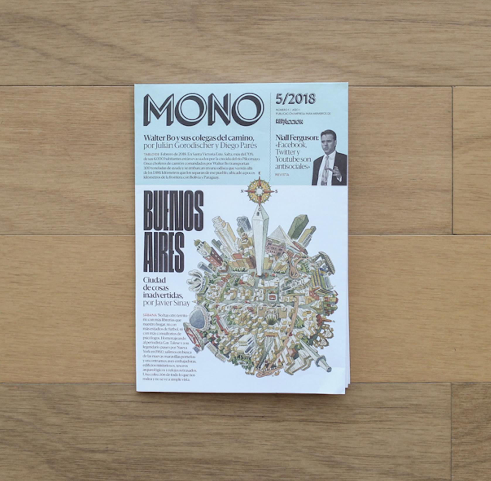 MONO, la revista desplegable de RED/ACCIÓN