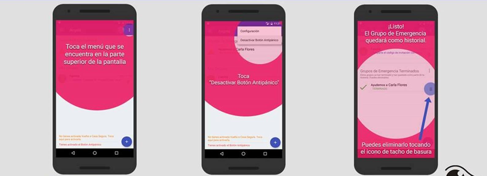 Una app salteña golpea a la violencia de género