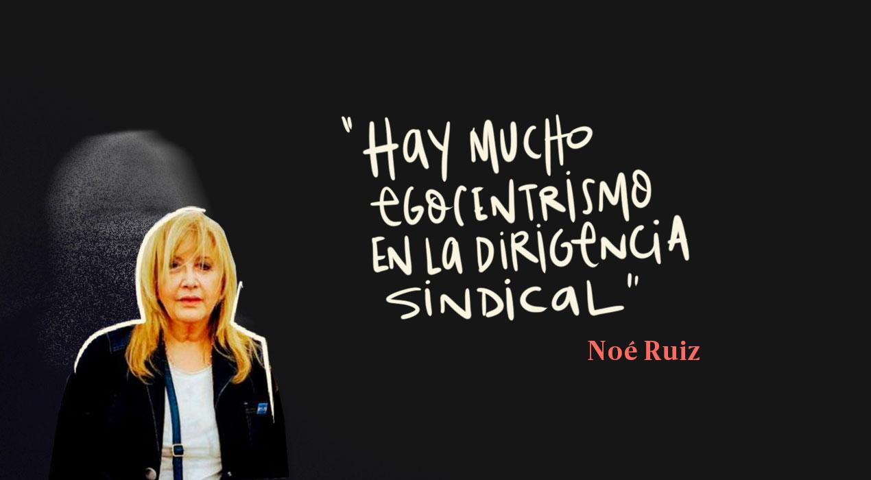 Quién es Noé Ruiz, una de las dos mujeres que se sienta en la mesa chica de la CGT