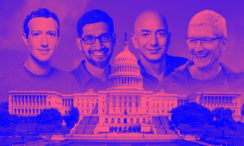 La política, el nuevo campo de batalla para Google, Facebook, y el resto de los gigantes que dominan internet