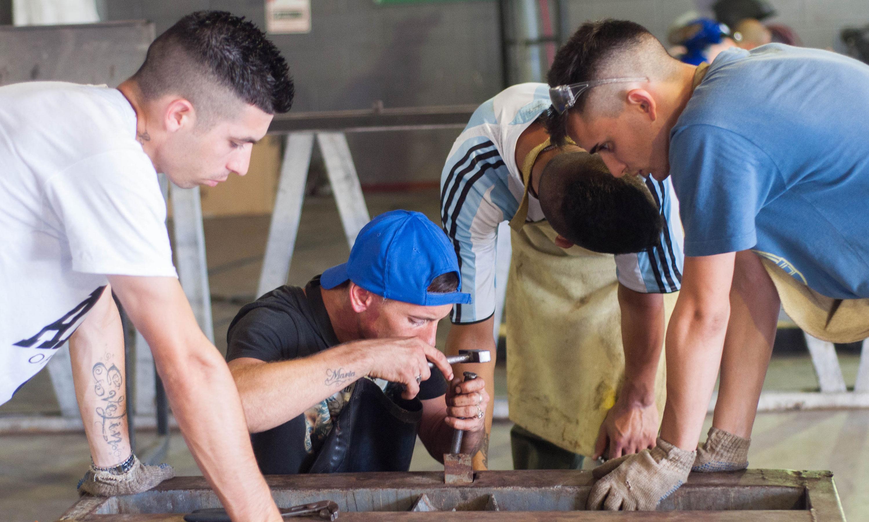 Sólo el 21% de los detenidos en las cárceles argentinas recibe capacitación laboral