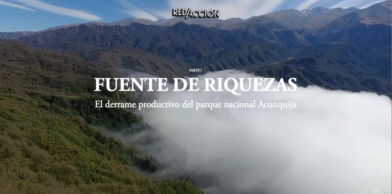 El parque nacional Aconquija mejora la vida de miles de tucumanos