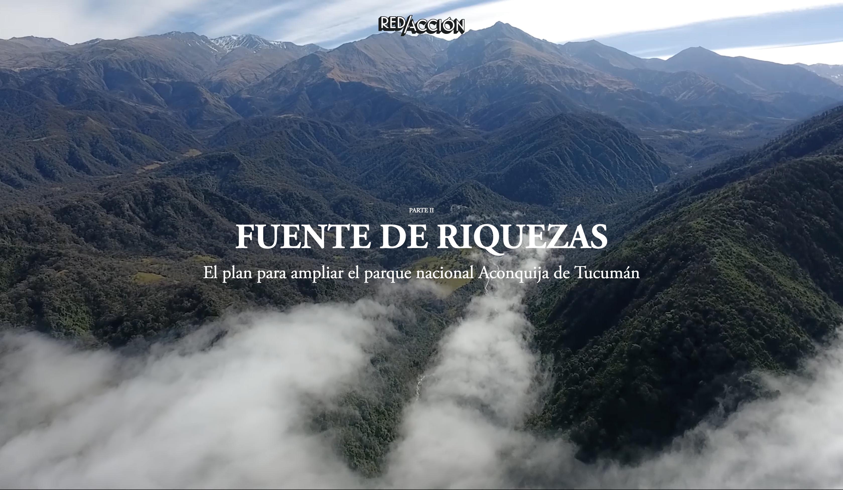 El plan para ampliar el parque nacional Aconquija de Tucumán