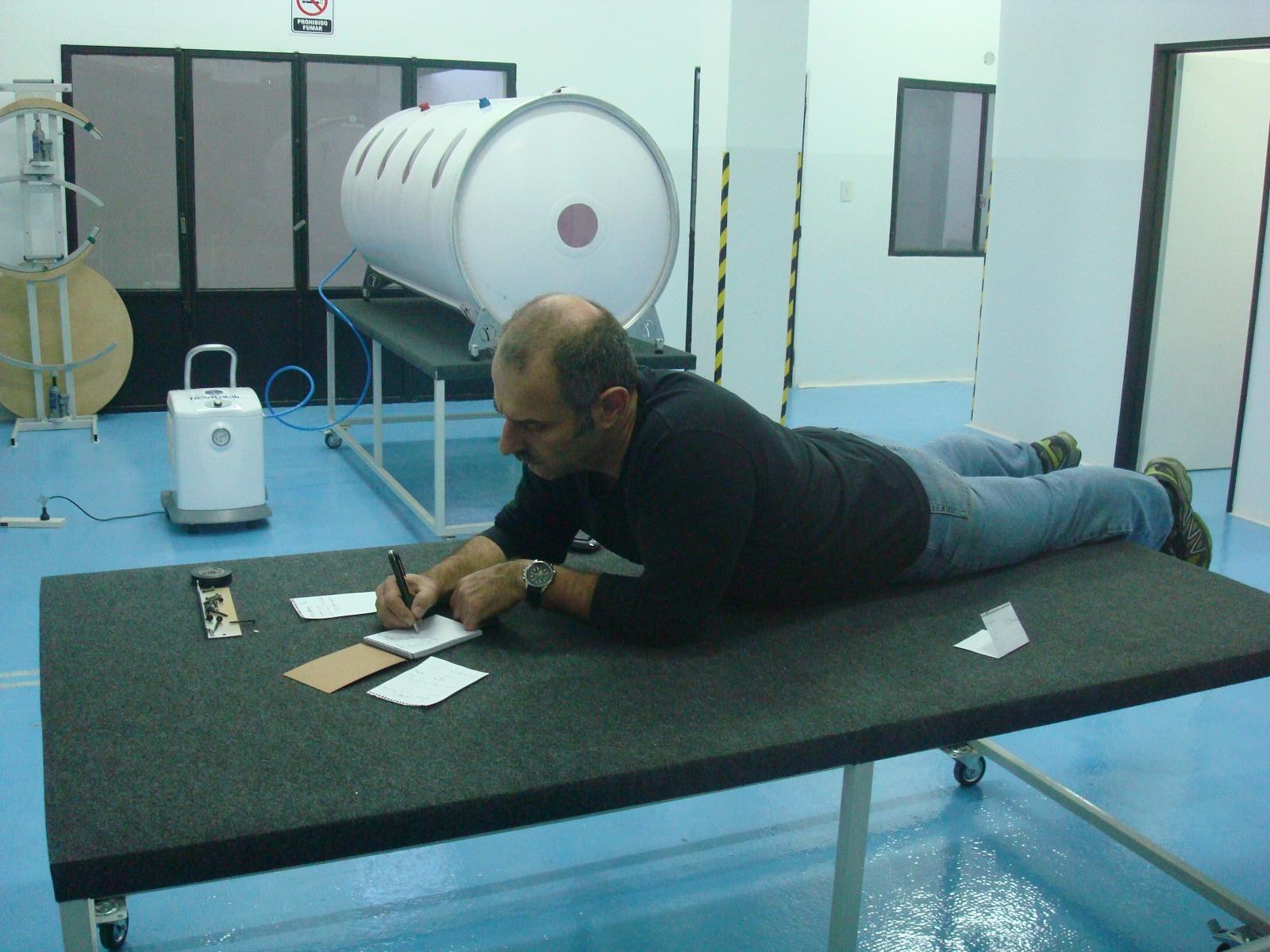 Claudio Teler desarrolló la cámara en 2010 y en 2011 fue aprobada por la ANMAT.
