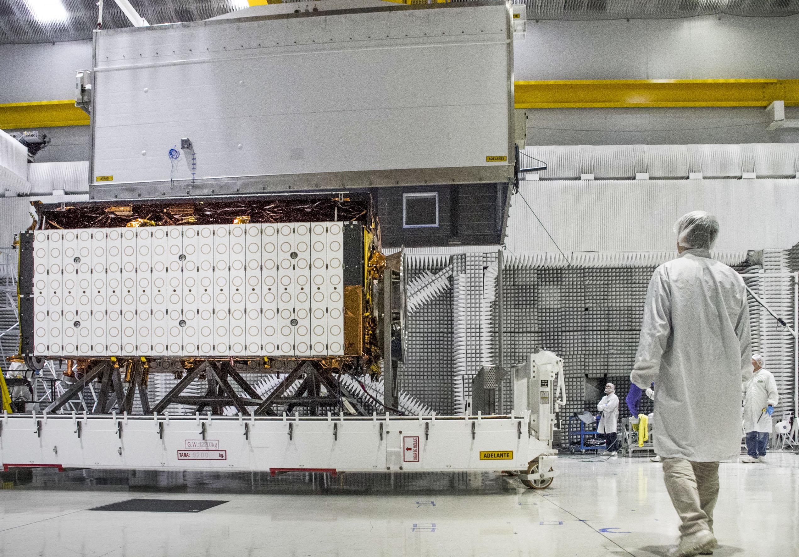 El domingo a la noche inicia su viaje al espacio un satélite argentino único en el mundo