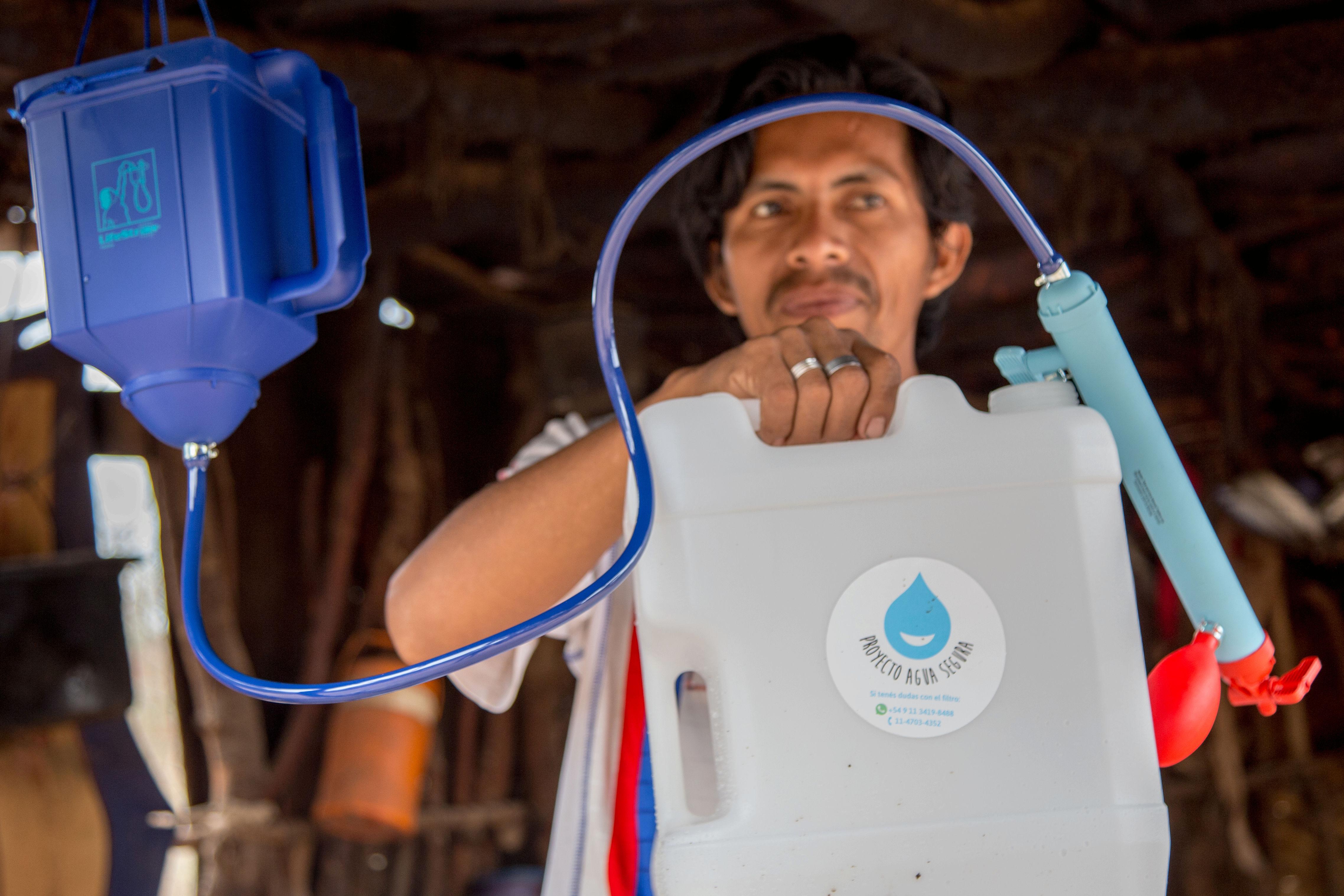 Proyecto Agua Segura busca dar accceso al agua en comunidades aisladas.