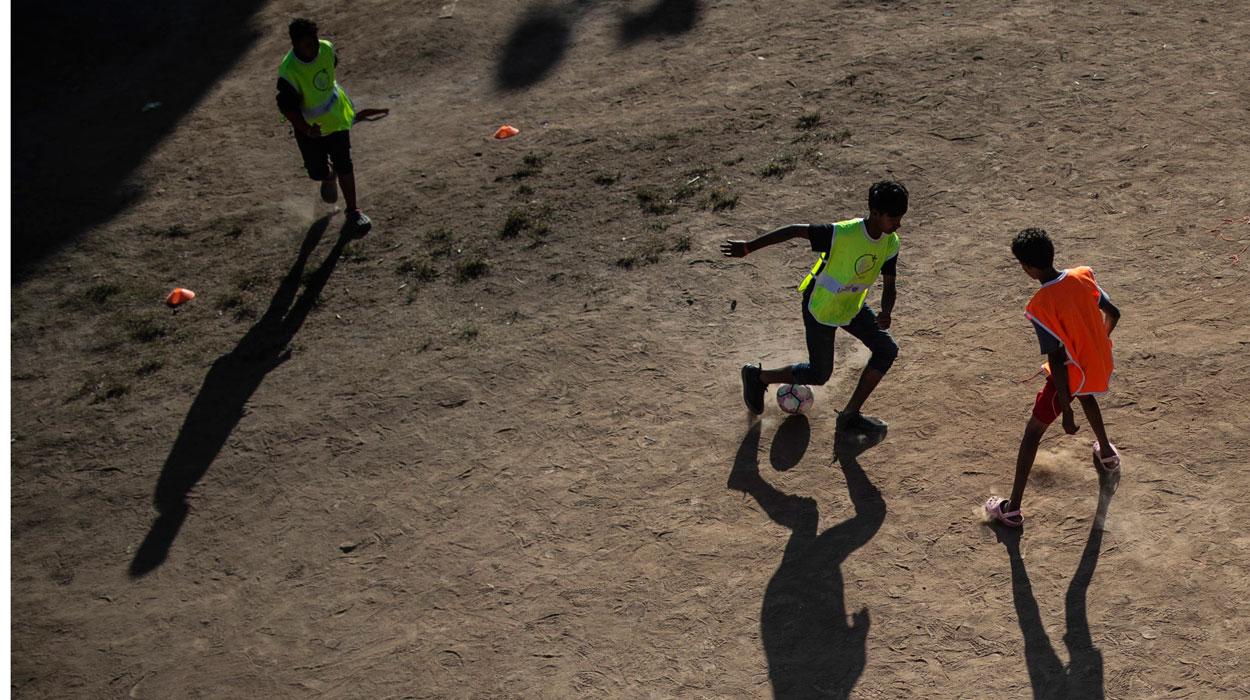 Fútbol en la frontera