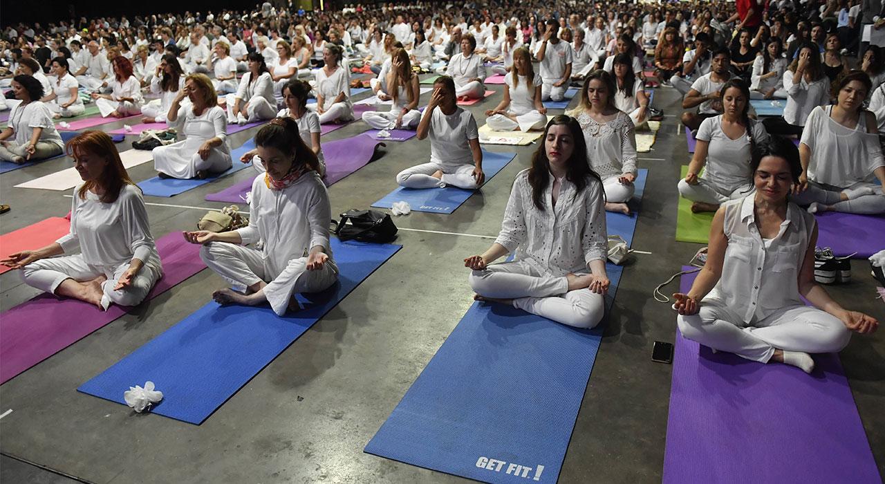 Yoga en el G20