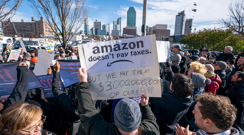 Amazon, Google y Facebook: los nuevos alcaldes de sus ciudades