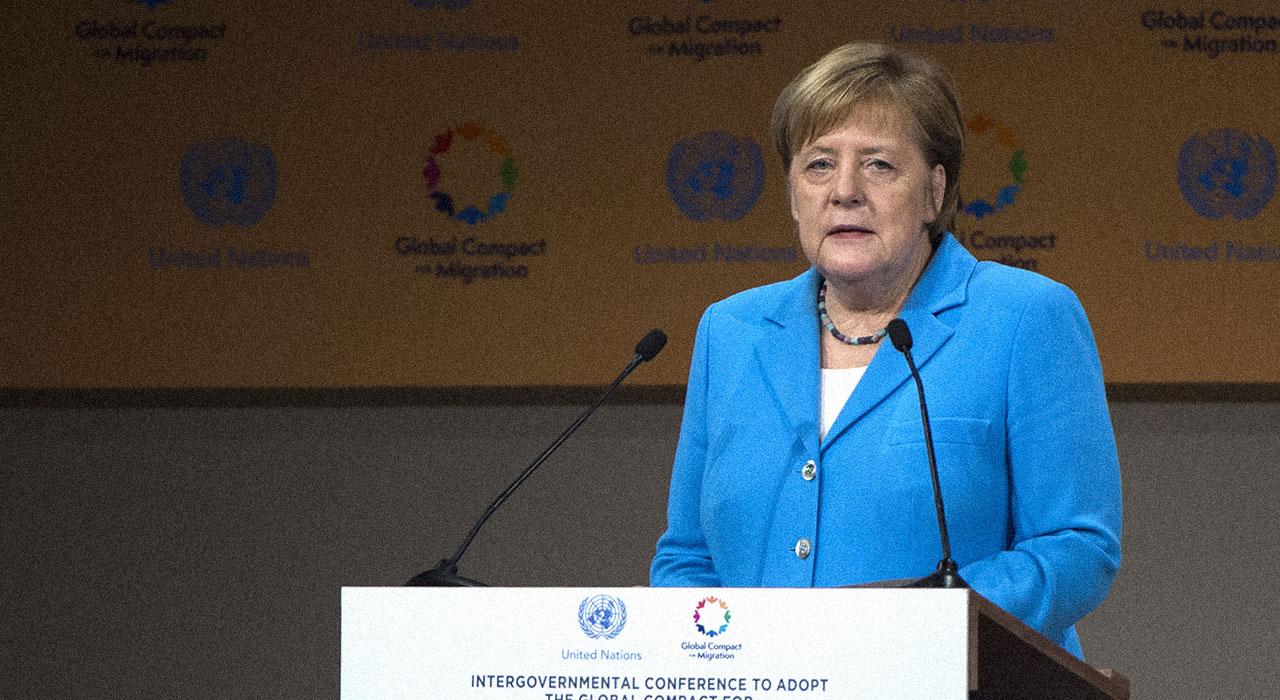 Merkel, por la inmigración