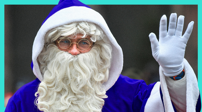 ¿Por qué Papá Noel debería ser azul?