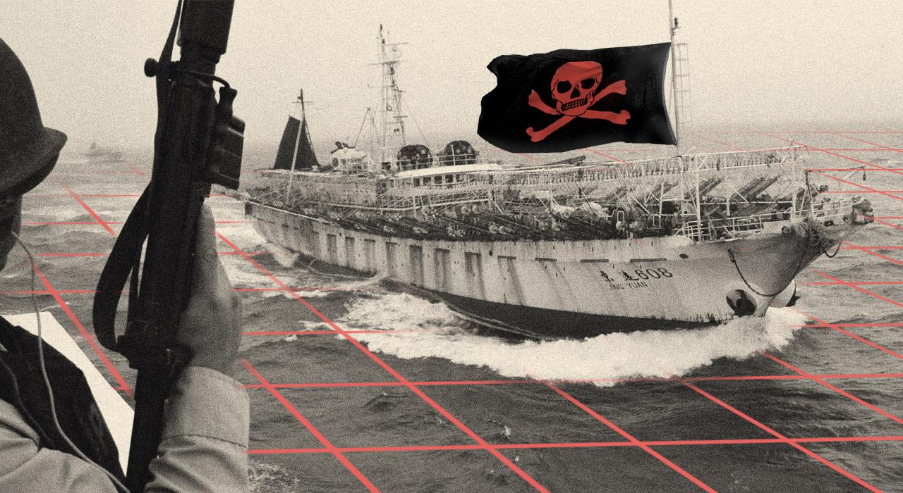 Pesca pirata: el saqueo de 400 barcos extranjeros que se esconden frente a Chubut
