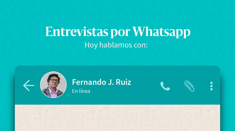 """Fernando J. Ruiz: """"En una sociedad democrática el periodismo es uno de los motores fundamentales de los acontecimientos"""""""