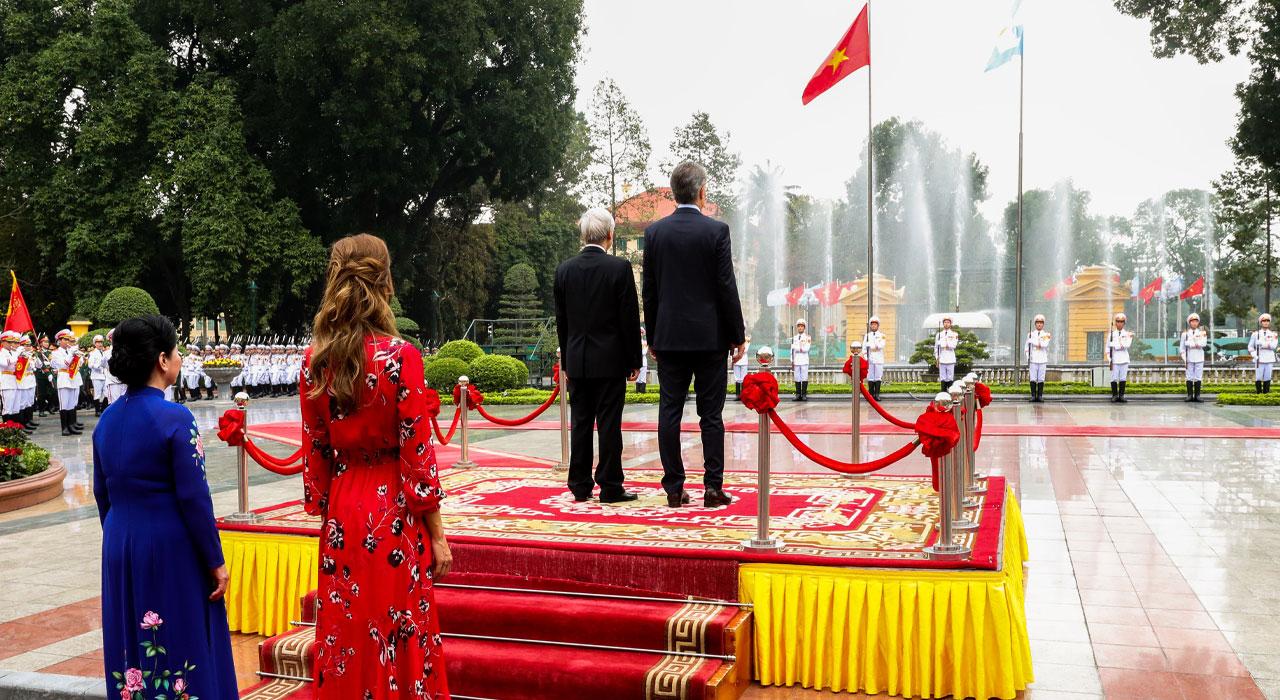 Macri en Vietnam