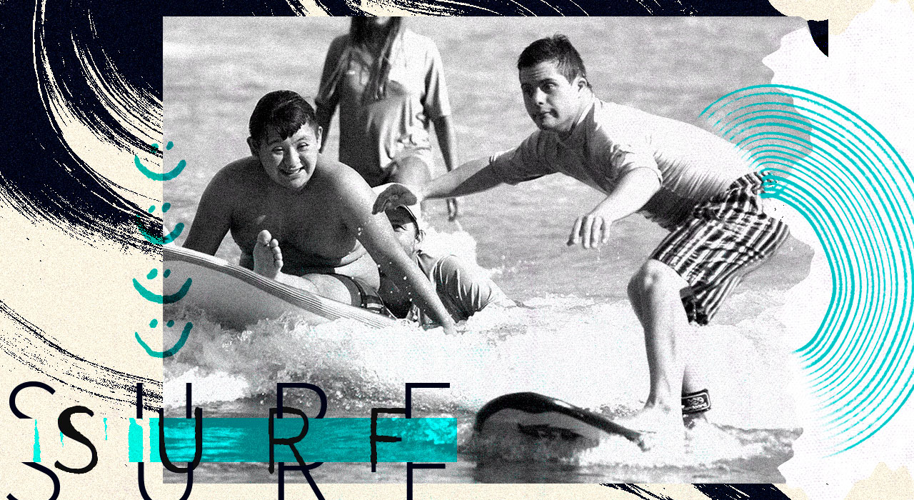 Una escuela de surf para todas las capacidades