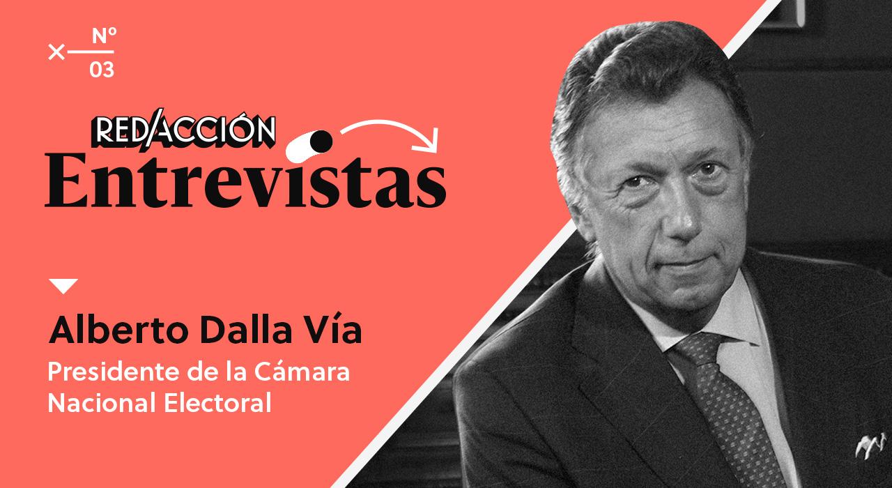 """Dalla Vía: """"Argentina no debate los temas institucionales y electorales cuando debería hacerlo"""""""