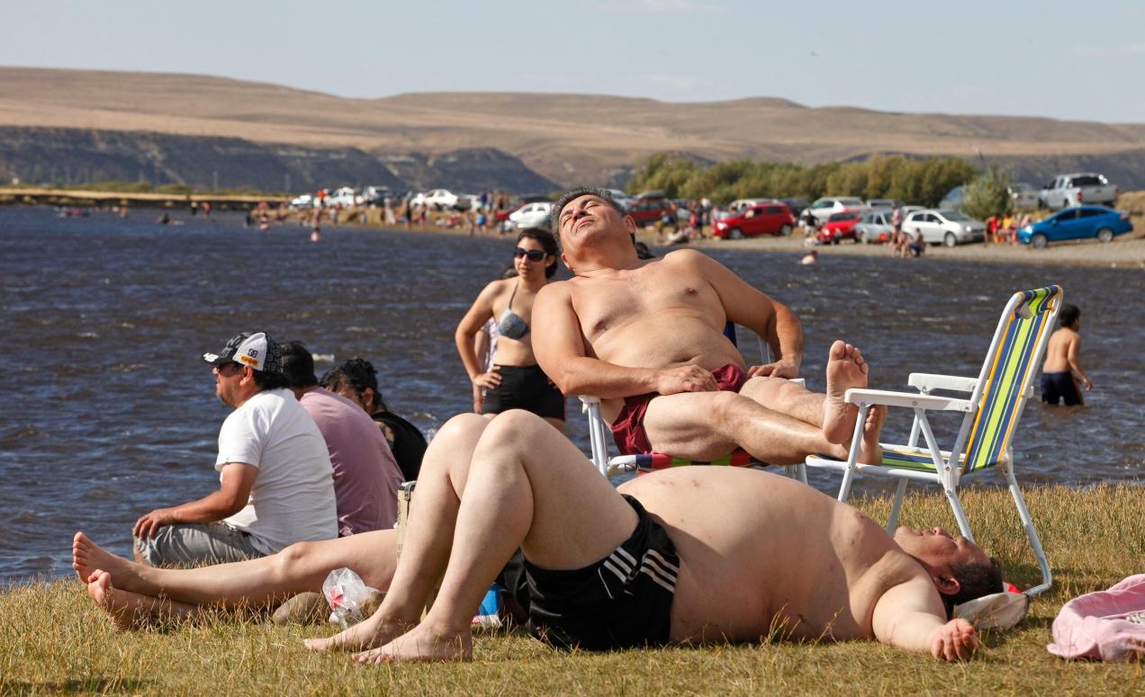 Ola de calor en la Patagonia