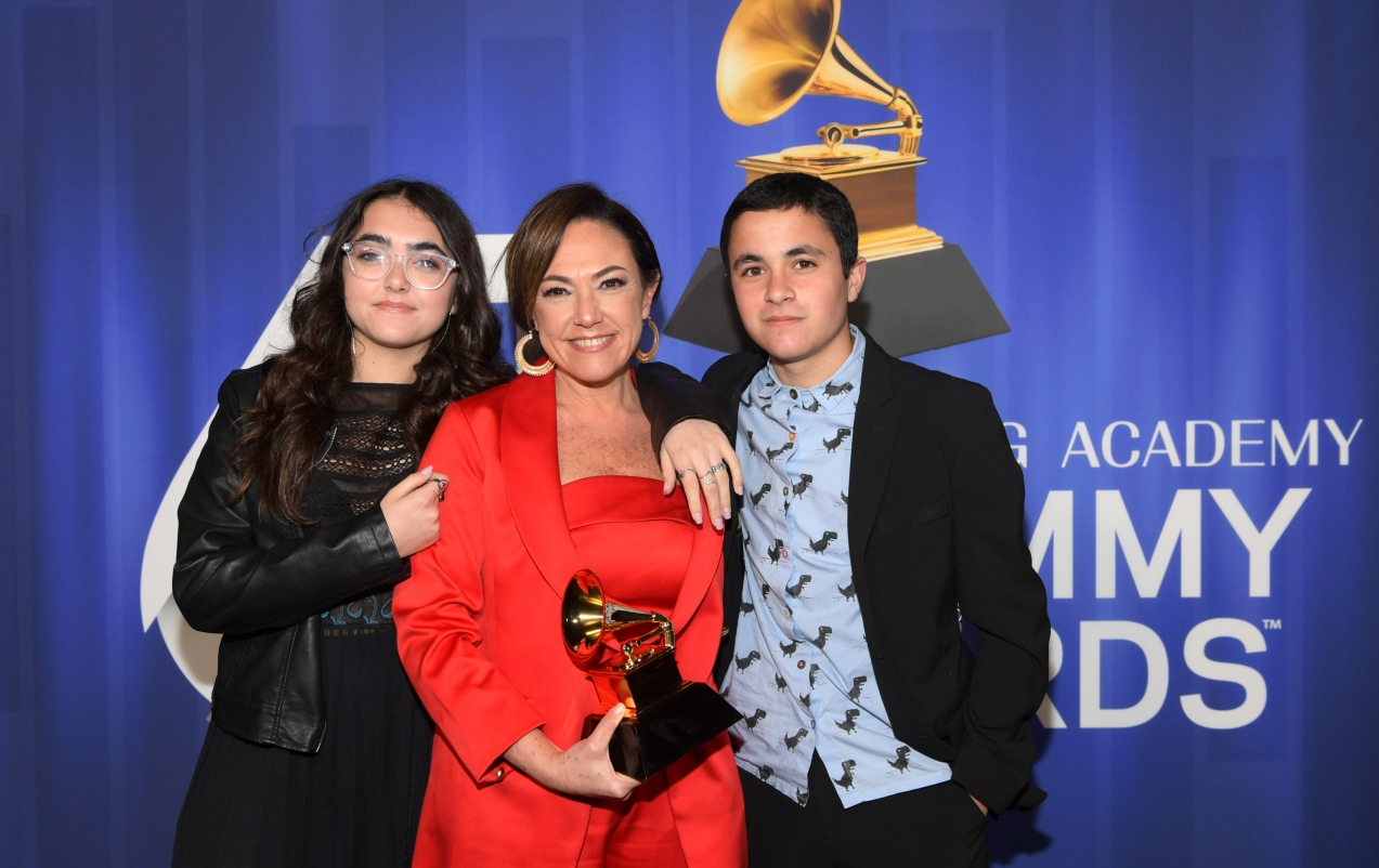 ¡Un Grammy argentino!
