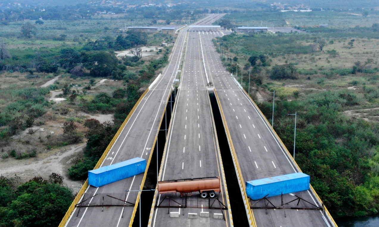 Frontera bloqueada