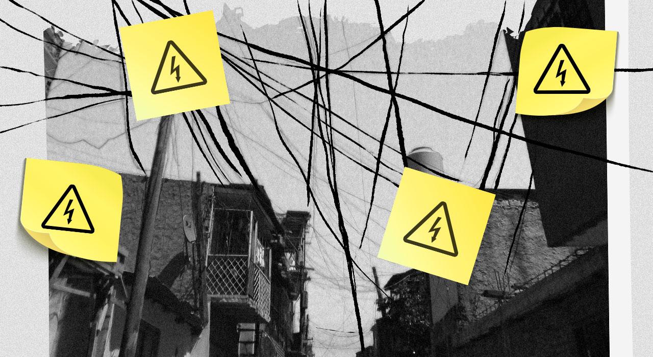 Cómo revertir el riesgo eléctrico en las villas de la Ciudad de Buenos Aires