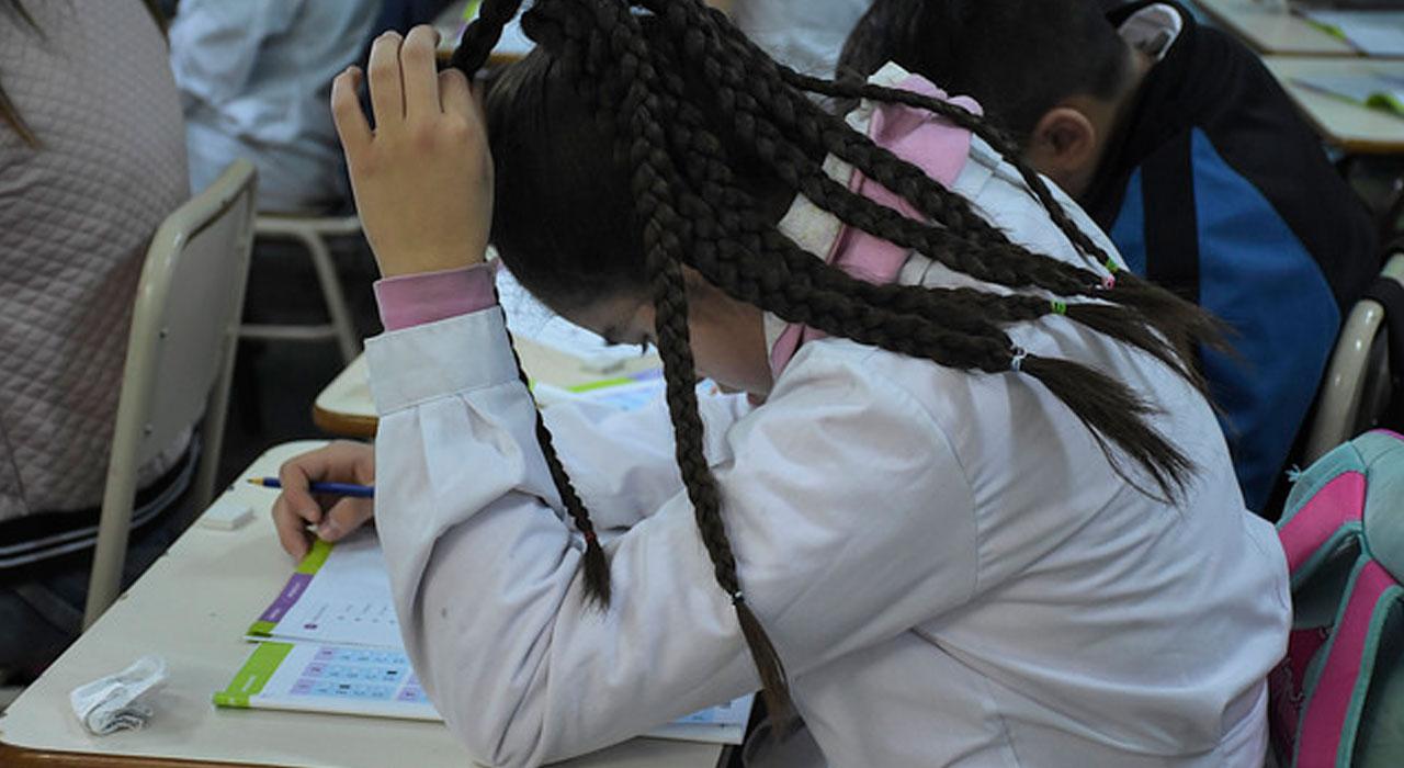 La mitad de los estudiantes de sexto grado del país asegura que nunca trabajó en clase el tema embarazo