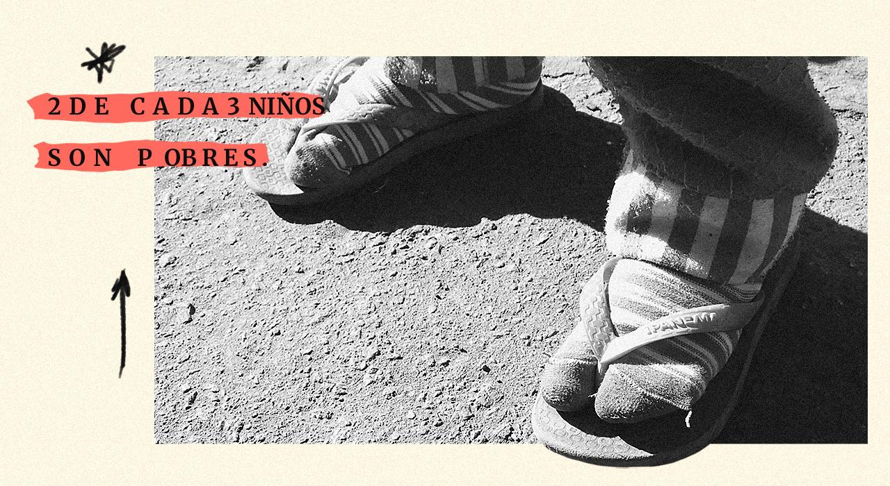 Dos tercios de los chicos argentinos siguieron siendo pobres