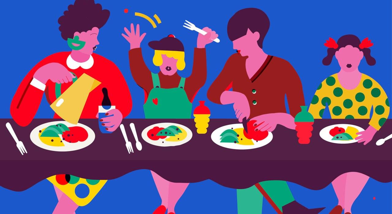 Cómo tener más comidas en familia
