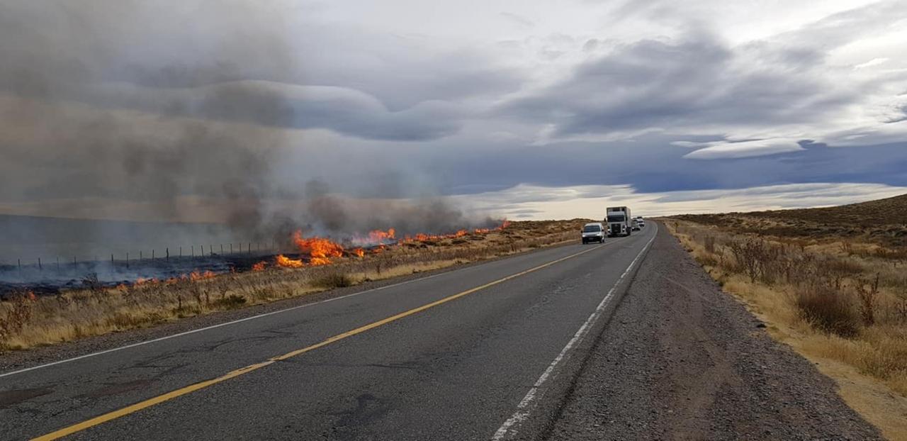 Incendio en Neuquén