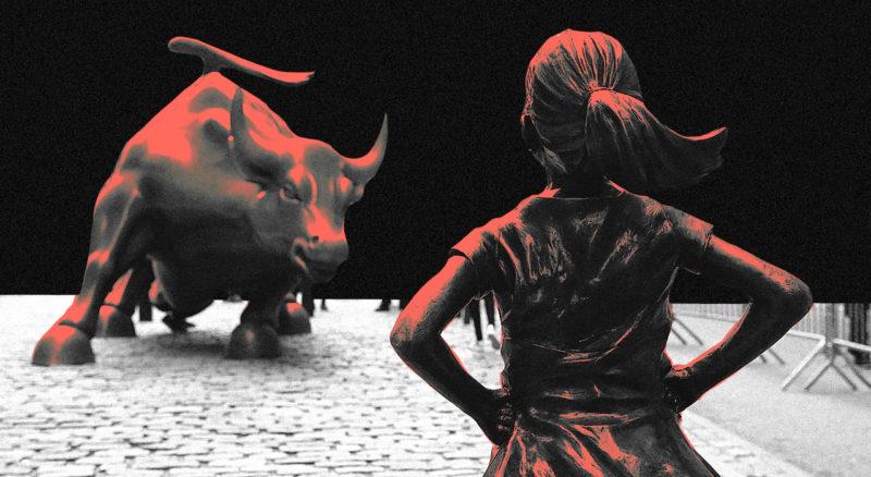 La burbuja de la COVID, una historia de dos economías