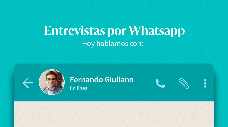 """Fernando Giuliano: """"Se generaron demandas que nuestro sistema político fue incapaz de canalizar de forma sostenible"""""""