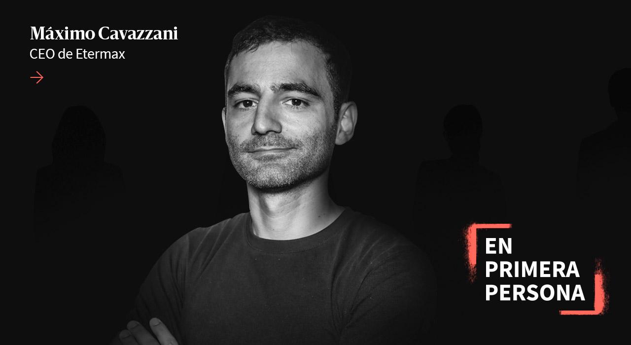 """Máximo Cavazzani: """"Si no tenés libertad, en la vida perdés"""""""