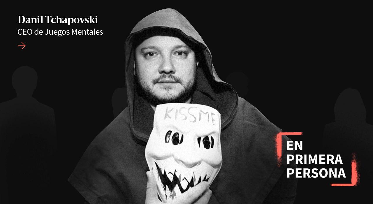 """Danil Tchapovski: """"No hay que temerle al fracaso: más fracasás, más aprendés"""""""