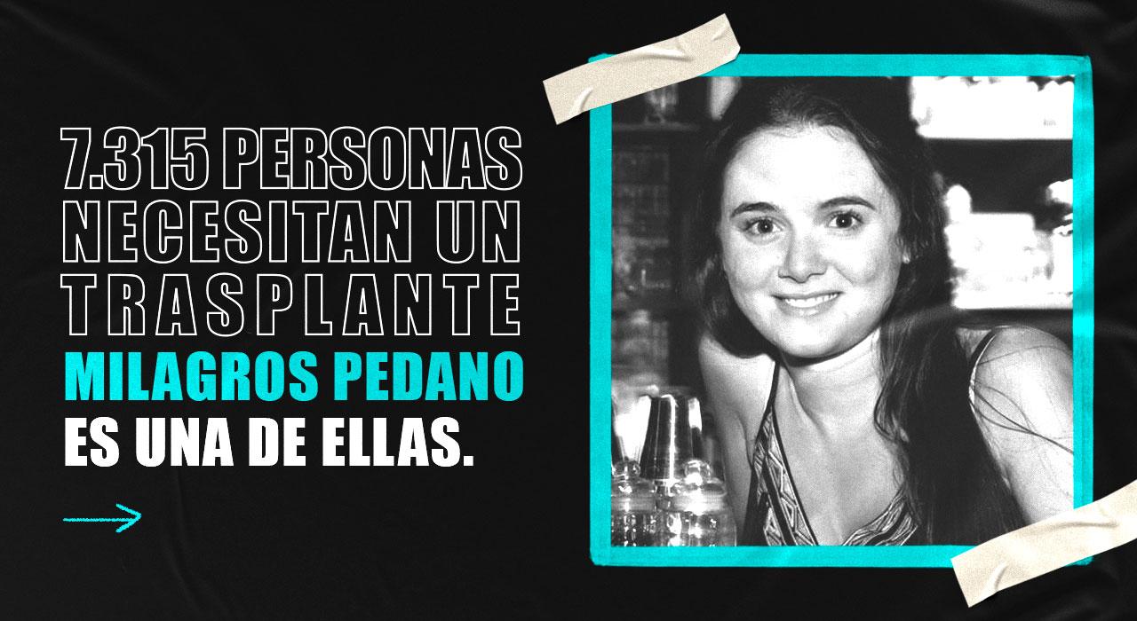 Celebramos el récord en la historia de los trasplantes! No nos olvidamos de Mili, aún en emergencia...