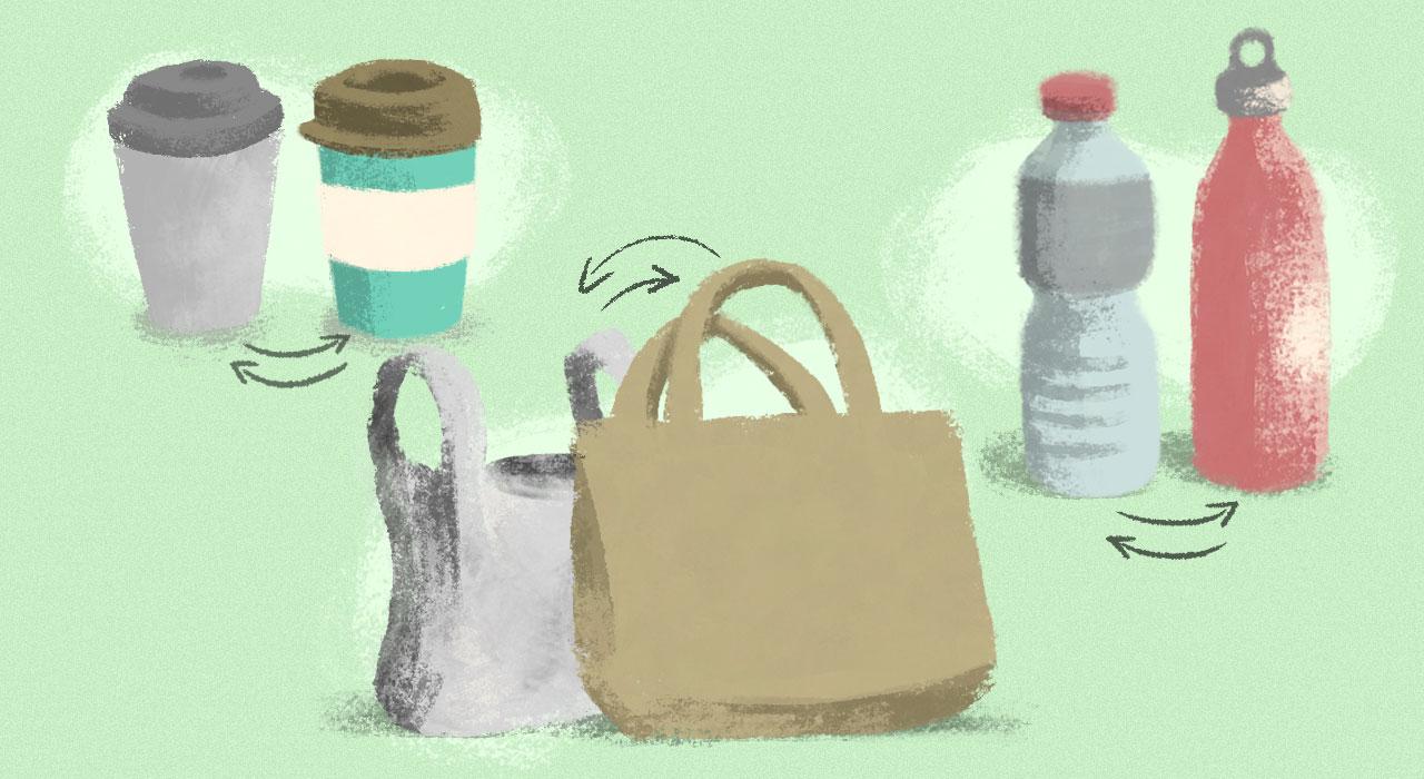 En Julio asumamos el reto mundial de rechazar los plásticos descartables