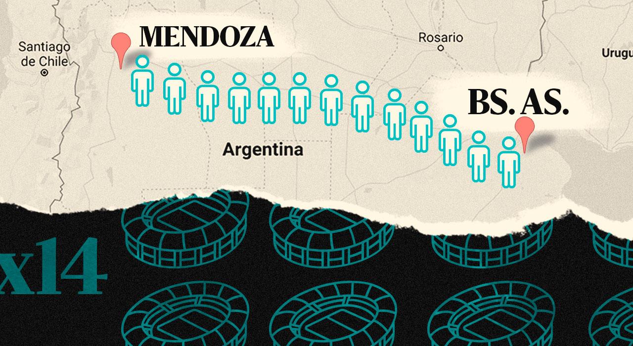 La generosidad infinita de los argentinos