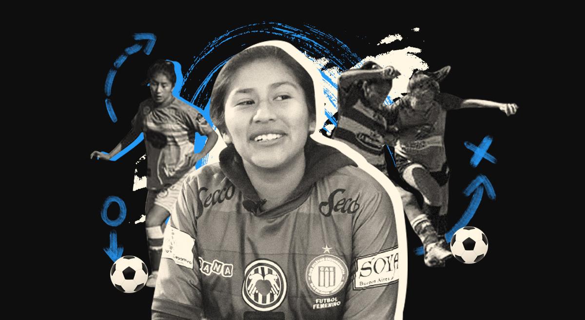 Aprendió a jugar en La Quiaca, se formó en la Villa 31 y es una de las primeras futbolistas profesionales del país