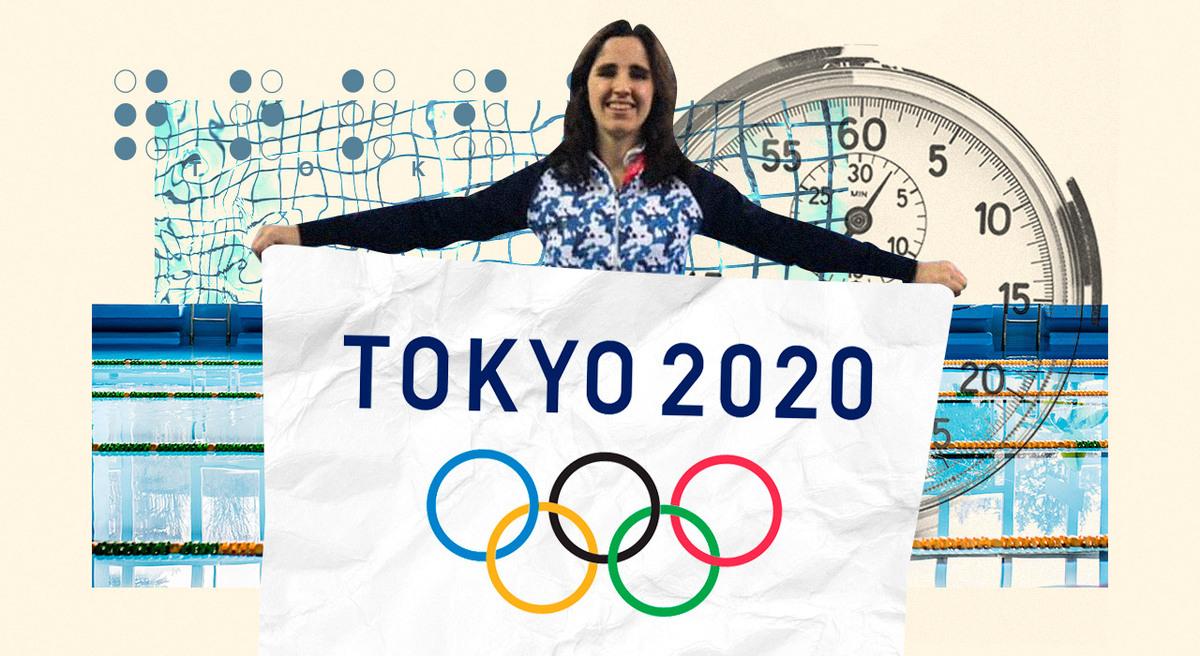 Daiana es ciega, se recibió de abogada y ahora busca llegar a los Juegos Paralímpicos de Tokio como nadadora
