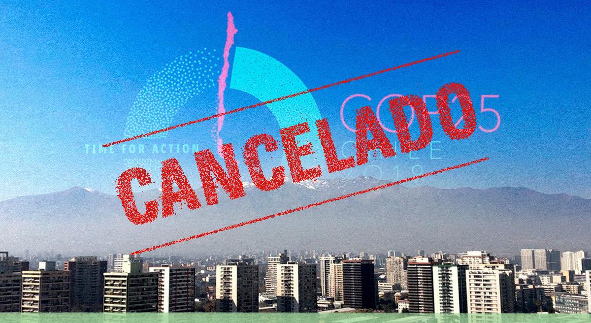 Chile canceló la realización de la COP25 en el país y las negociaciones climáticas esperan nueva sede