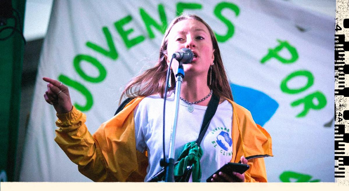 Quién es Nicole Becker, la referente de los adolescentes argentinos que luchan contra la crisis climática