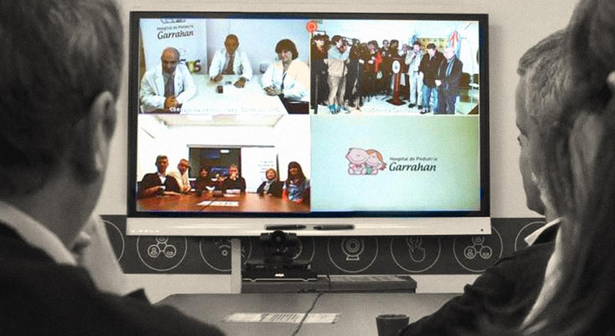 Hospital a distancia: el Garrahan lidera una red de telesalud que conecta a todo el país y es modelo en el mundo