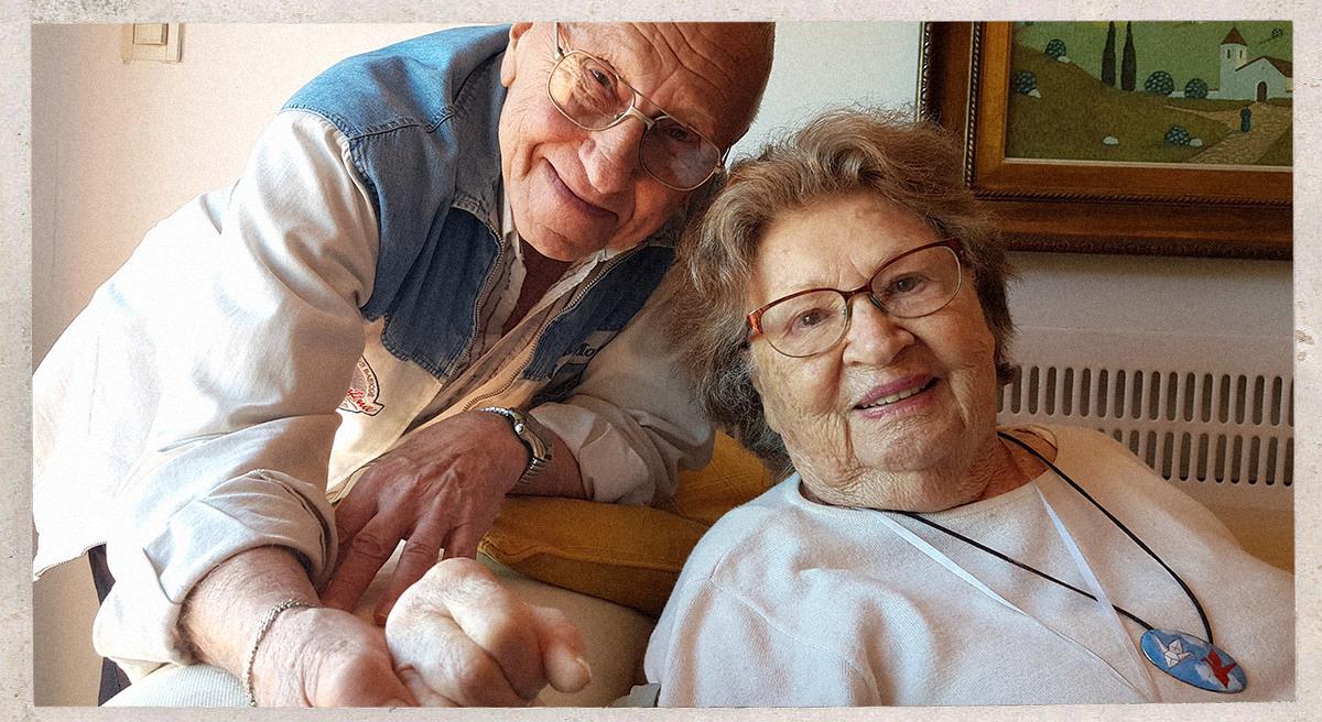 Rita e Isidoro: cómo salieron de la soledad que sienten muchos adultos mayores