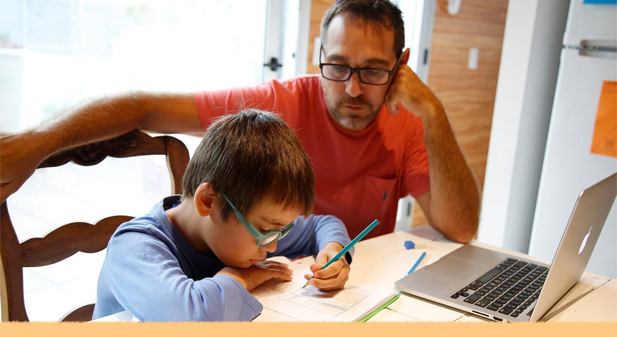 Cómo acompañar a los niños, niñas y adolescentes en la educación desde casa