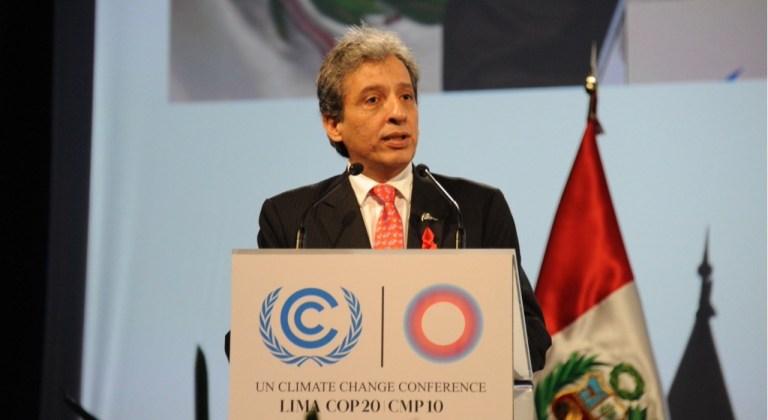 3 preguntas a Manuel Pulgar Vidal, uno de los arquitectos clave del Acuerdo de París