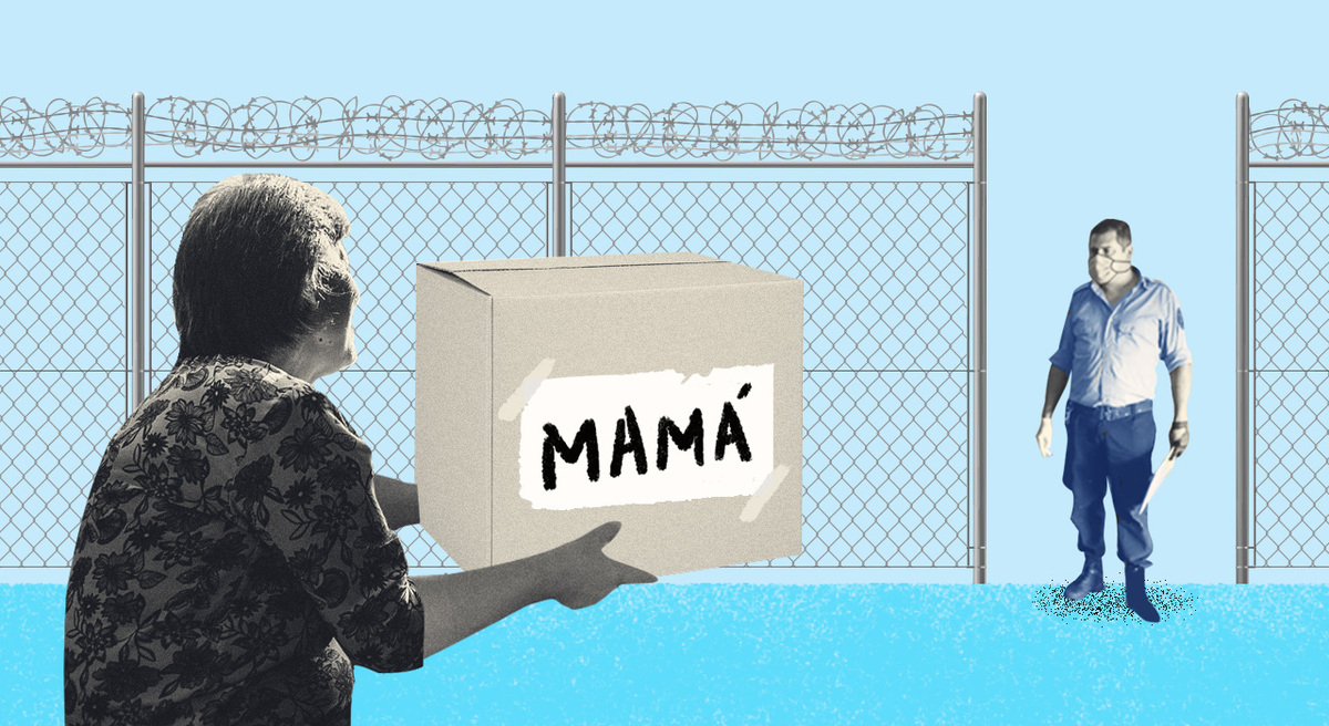 Todos aislados: la travesía de las personas que en cuarentena necesitan enviarles comida a familiares presos