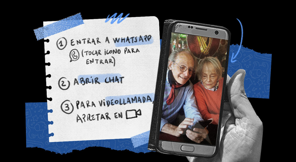 Tutoriales caseros: historias de cómo podemos enseñarles a usar la tecnología a las personas mayores