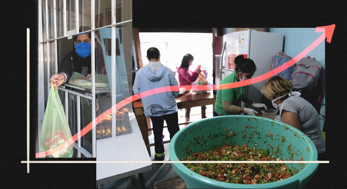 """La """"curva solidaria"""": las motivaciones de los nuevos voluntarios"""