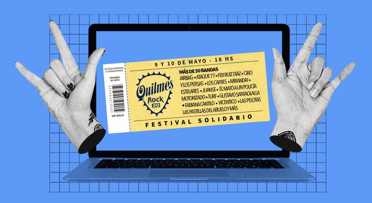 Quilmes Rock: por qué vuelve con fines solidarios y otras 5 curiosidades del festival virtual más grande del año