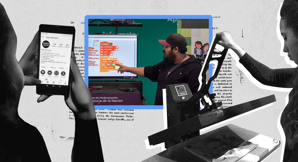 Teletrabajo en barrios populares: una red de escuelas genera empleos digitales en plena cuarentena